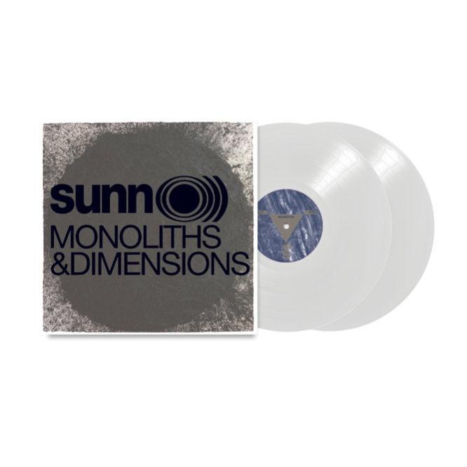 Sunn100 Sunn O))) - Monoliths & Dimensions white vinyl