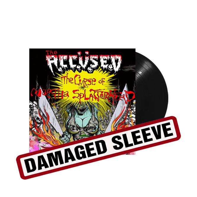 LORD107 The Accüsed The Curse of Martha Splatterhead -damaged-sleeve