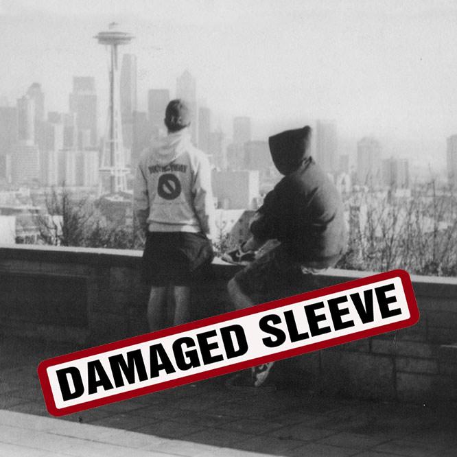 LORD199 Brotherhood LP damaged sleeve