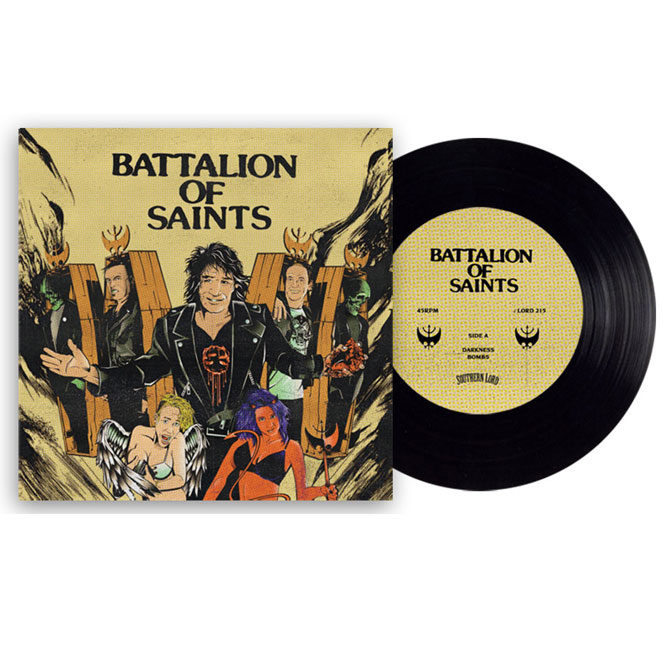 Lord215 Batallion of Saints - Black Vinyl