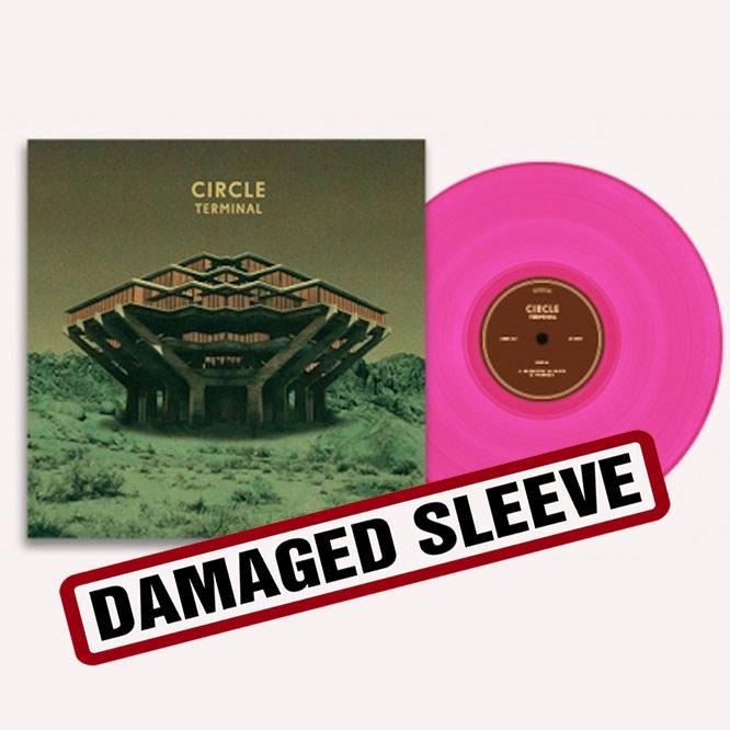 LORD235 Circle Terminal pink vinyl damaged-sleeve