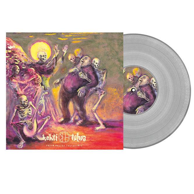 Kohti Tuhoa - Pelon neljäs valtakunta - clear vinyl LP