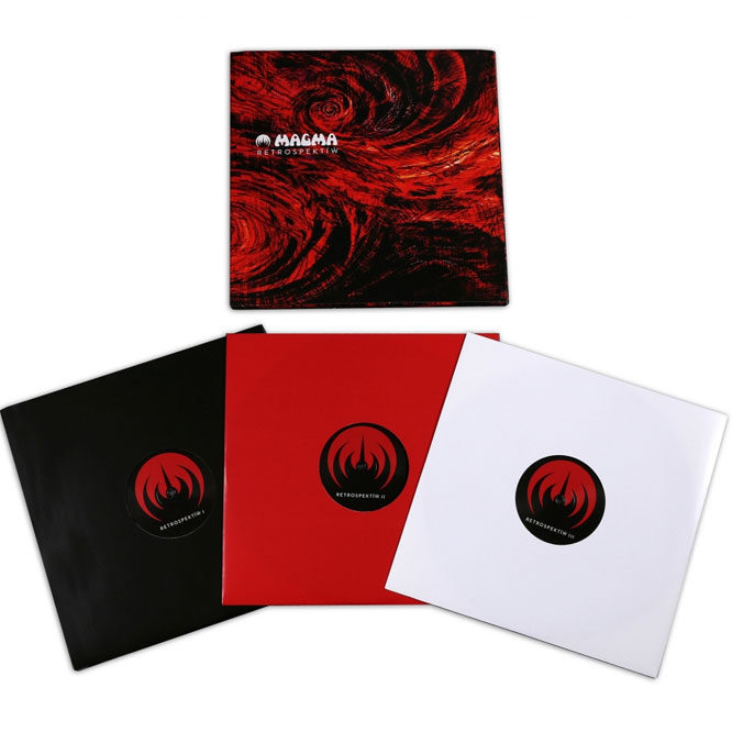 Magma Retrospektïẁ Triple Black Vinyl