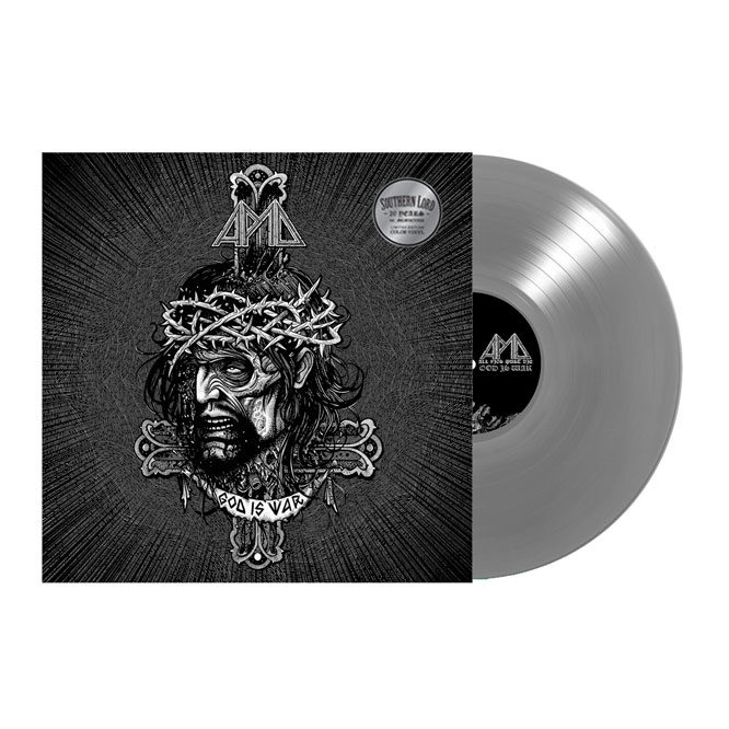Lord130 All Pigs Must Die - God Is War silver vinyl