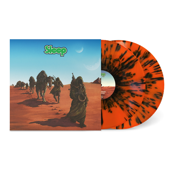 LORD158 SLEEP - Dopesmoker 2xLP Orange Black Splatter