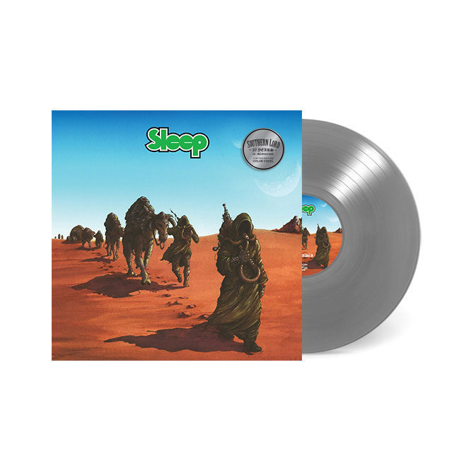 LORD158 Sleep - Dopesmoker LP Silver