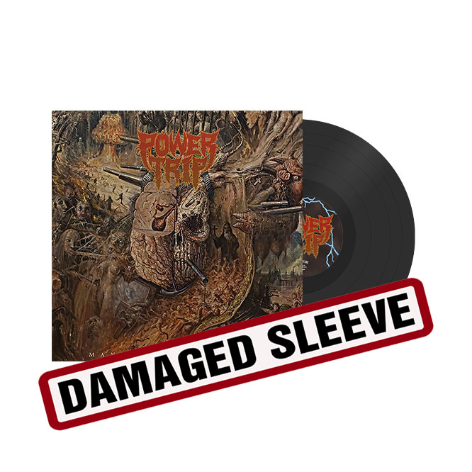 LORD175 Power Trip - Manifest Decimationblack damaged sleeve