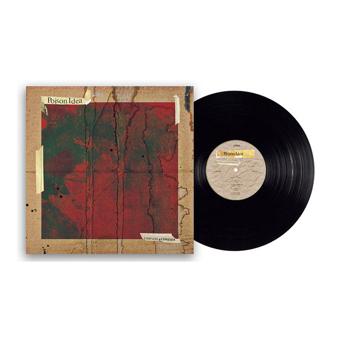 LORD207 Poison Idea black vinyl
