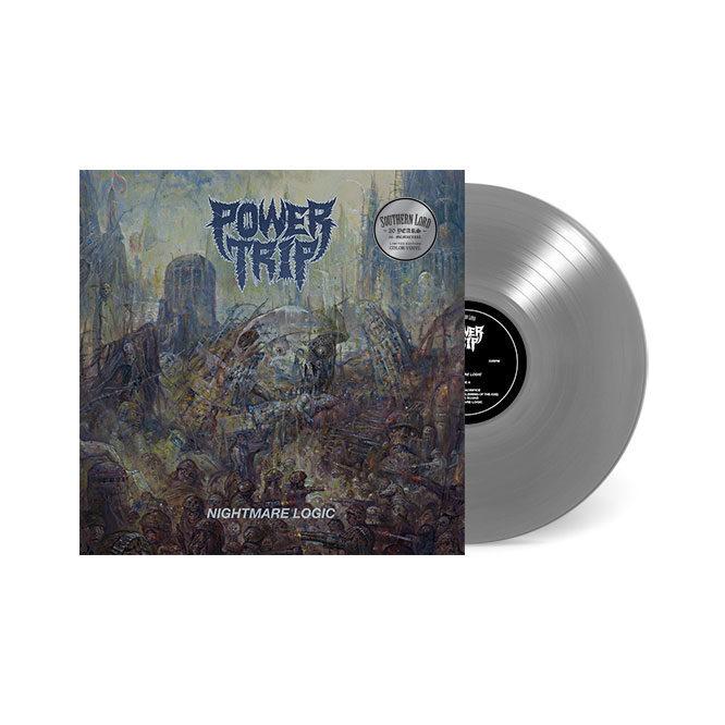 LORD236 Power Trip Nightmare Logic LP Silver
