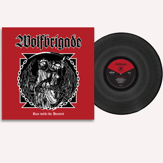 Wolfbrigade - Run With The Hunted black vinyl