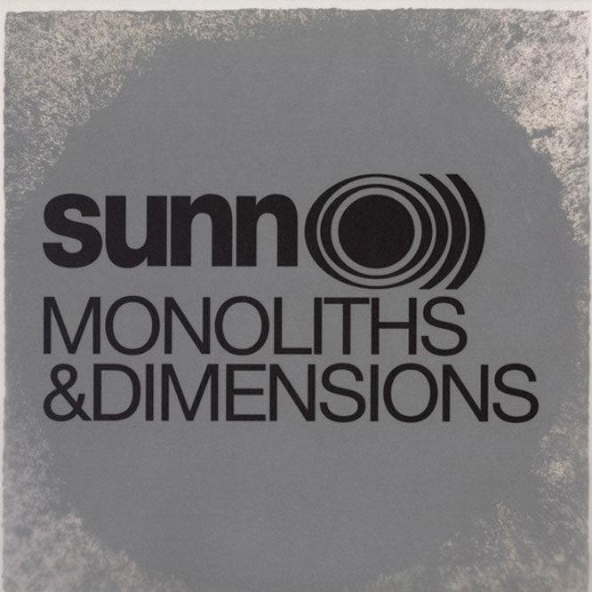Sunn100 Sunn O))) - Monoliths & Dimensions LP