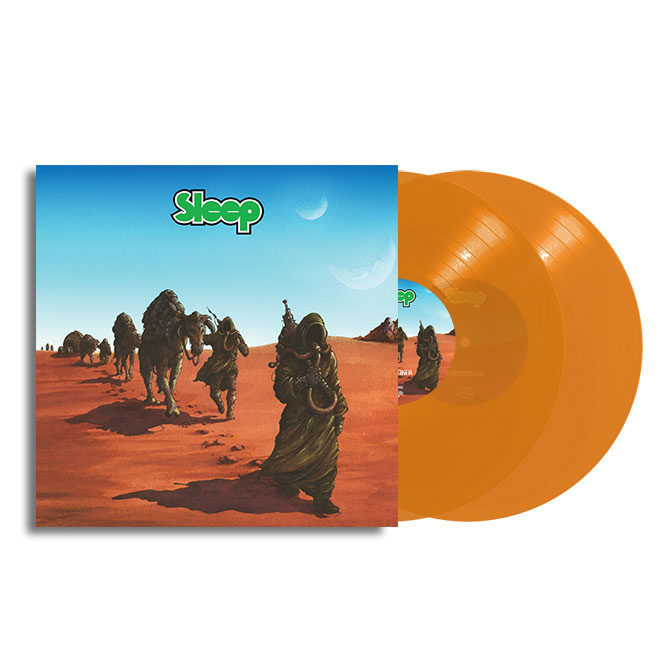 LORD158 Sleep - Dopesmoker orange vinyl