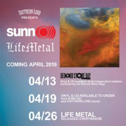 Sunn O))) Life Metal Release dates