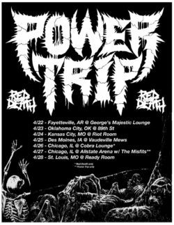 POWER TRIP RED DEATH