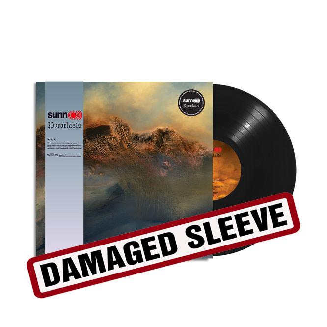 sunn333 SUNN O))) - Pyroclasts Black Vinyl damaged-sleeve