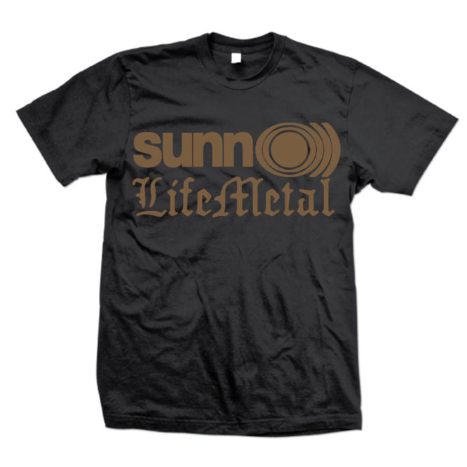 Life Metal Gold Logo T-Shirt