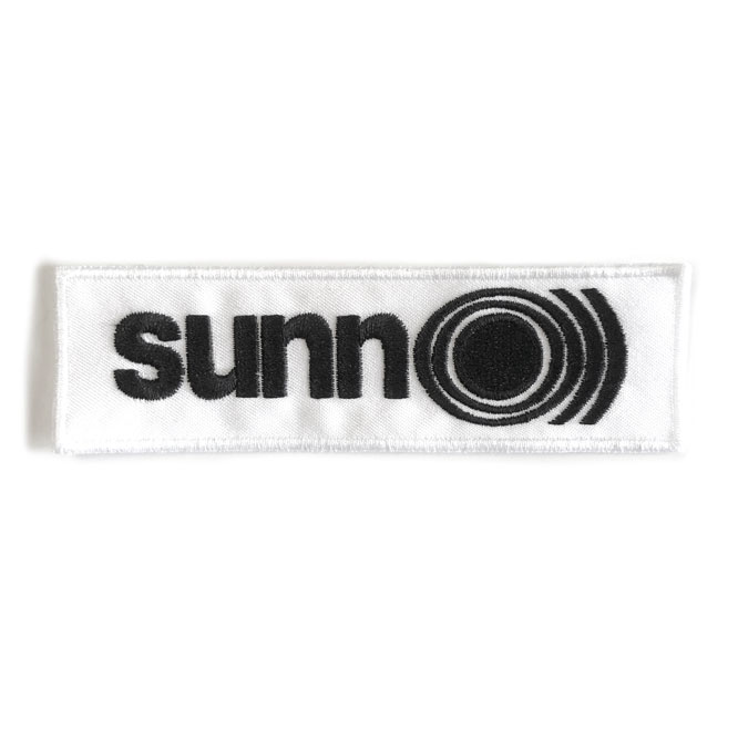 Sunn O))) White and Black Logo Patch