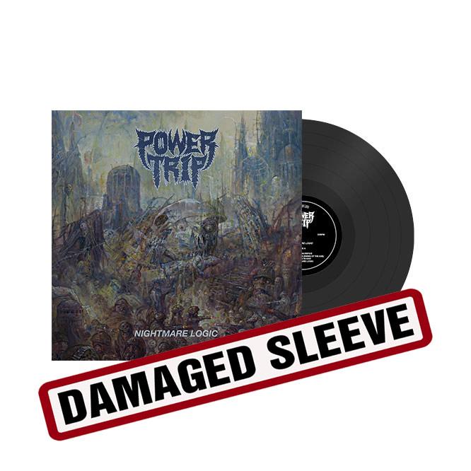 Power Trip - Nightmare Logic- damaged sleeve