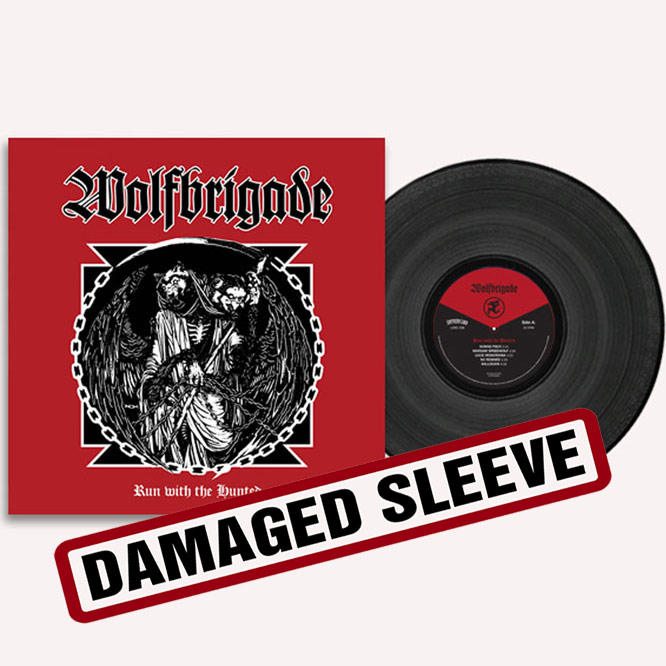 Wolfbrigade Run With The Hunted - damaged sleeve