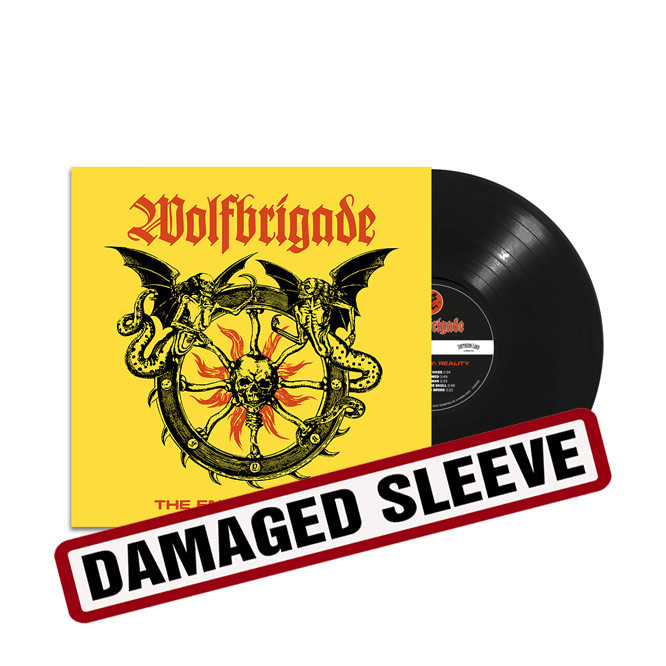 Wolfbrigade The Enemy : Reality - damaged sleeve