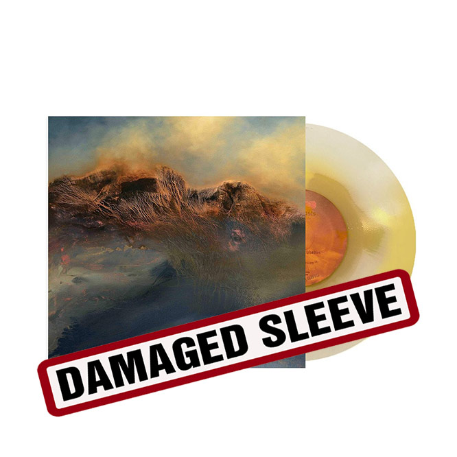 SUNN333 LP yellow white vinyl damaged sleeve