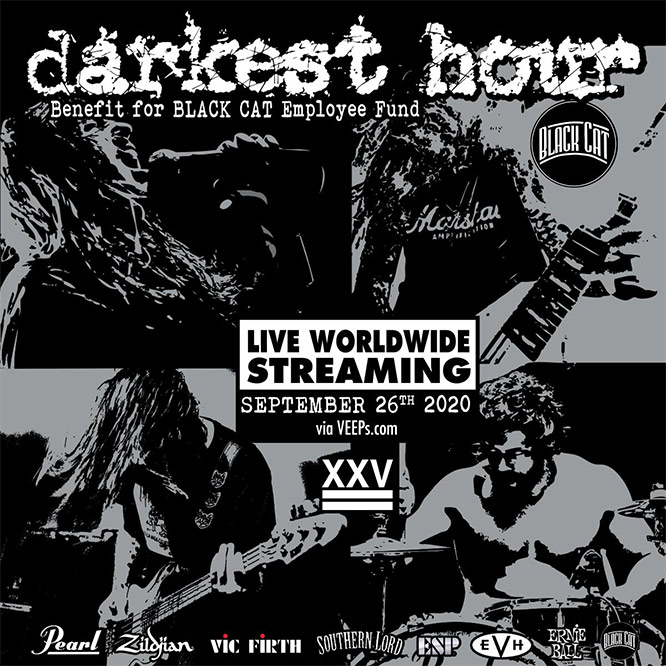Darkest Hour benefit Black Cat Employee Fund