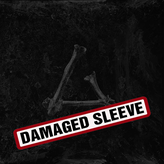 LORD197 Gust LP Black Vinyl damaged sleeve