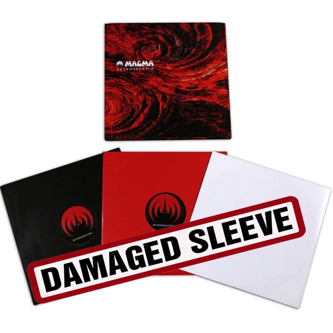 LORD240 Triple LP Magma-damaged sleeve