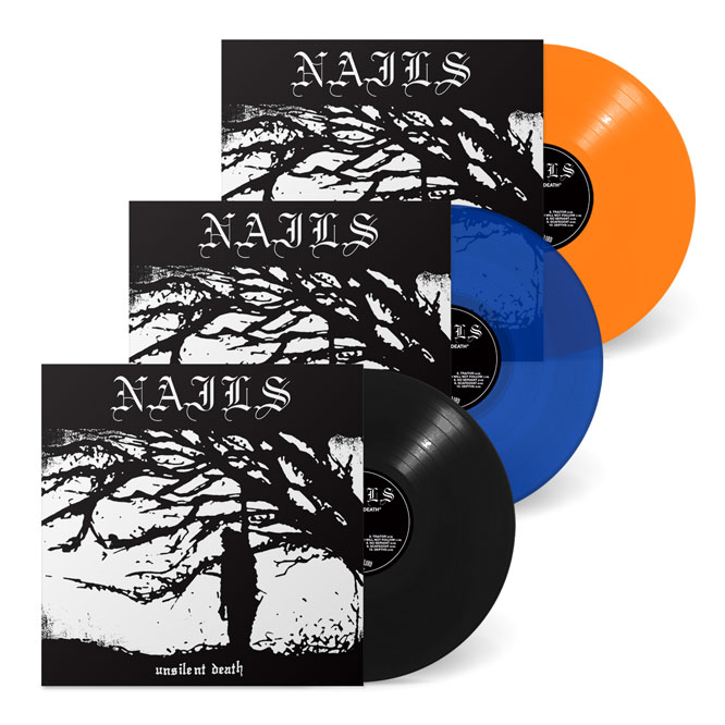 Nails - Unsilent Death (10th Anniversary Edition) 3 LP package