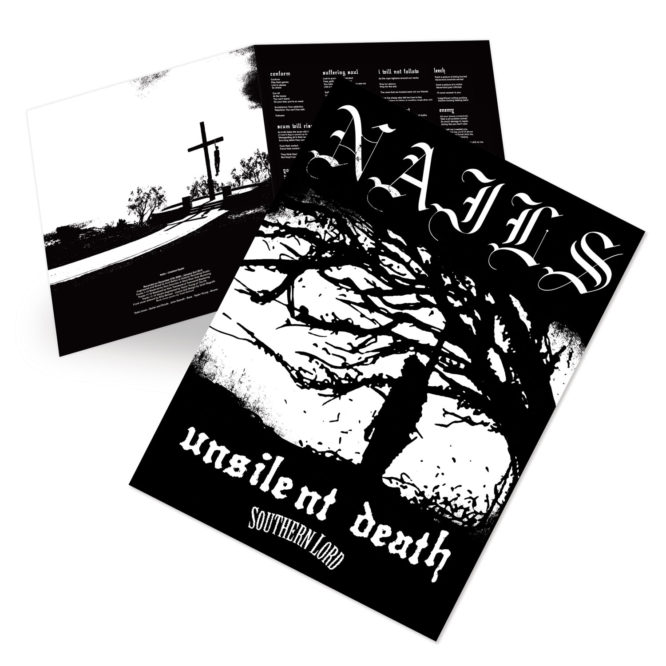 Nails - Unsilent Death (10th Anniversary Edition) GateFold Poster