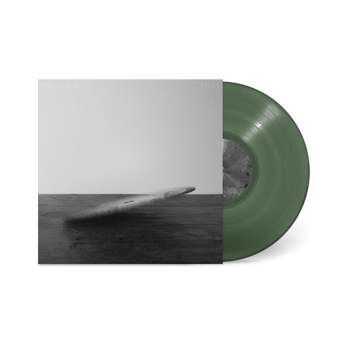 LORD287 BIG|BRAVE- Viral LP Olive Vinyl