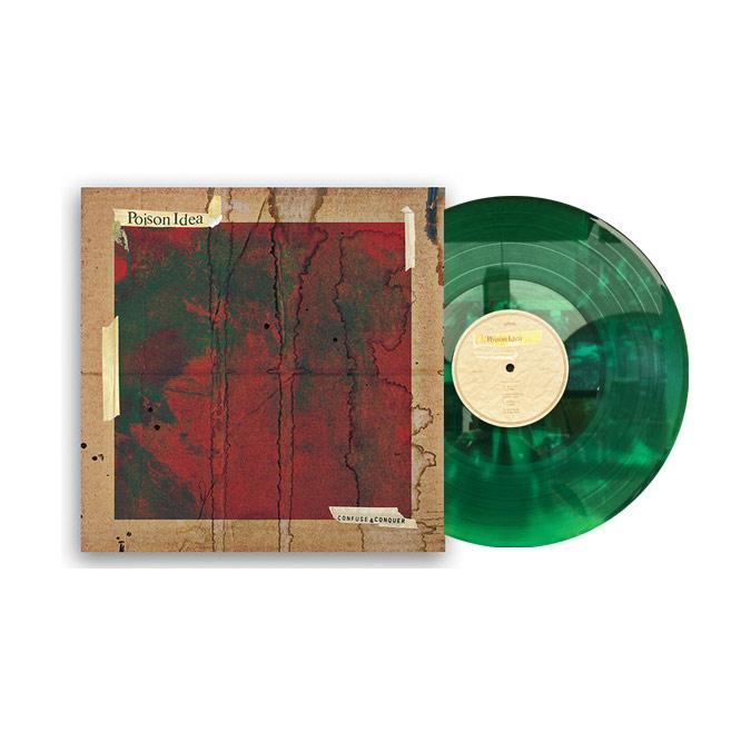 LORD207 Poison Idea green vinyl