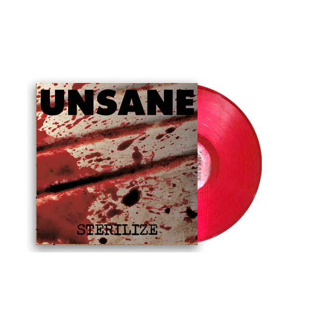 LORD244 Unsane -red vinyl